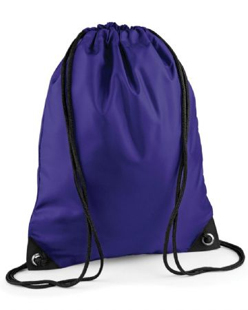 NEWTON PARK PRIMARY SCHOOL PURPLE PREMIUM GYMSACK/SHOEBAG WITH LOGO